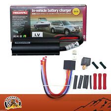 REDARC BCDC1225LV DUAL BATTERY SYSTEM DC TO DC CHARGER MPPT SOLAR+80A RELAY KIT