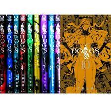 Manga DOGS BULLETS & CARNAGE VOL.1-10 Comics Complete Set Japan Comic F/S