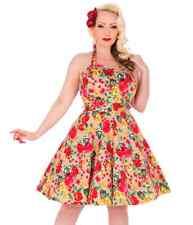 Floral Dress 8 Swing Dress size 8 Rockabilly Dress 8 50s style Dress 8 Pinup
