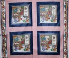 Cranston Quilt Block 100% Polished Cotton Flower Fabric Sewing Material Per Yard