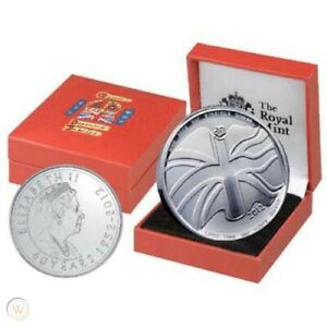 2012 QEII Diamond Jubilee Commemorative Medal in Box Mint Condition
