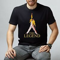 Queen T-Shirt Freddie Mercury Shirt Bohemian Rhapsody Tee The Legend Mercury Tee