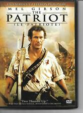 The Patriot DVD! Mel Gibson! Heath Ledger! Extended Cut! Historical Epic! Period