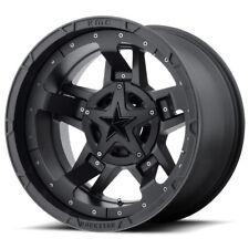 20x9 BLACK rims XD827 ROCKSTAR 3 2011-2018 CHEVY GMC 2500 3500 Truck 8X180 +18mm