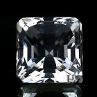 Square Shape Crystal Clear Paperweight Cut Glass Giant Diamond Jewel Decor Gift