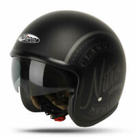 Nitro X581 Decal Open Face Motorbike Motorcycle Scooter Helmet Extra Small XS