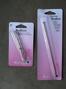 BODKINS  - CHOICE OF SIZES.