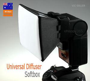 Flash Softbox Difuser for Canon 580EX 430EX 550EX 540EZ 420EZ Nikon SB800 SB600