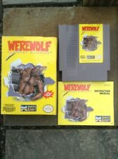 Werewolf The Last Warrior Nintendo Game In The Original  Box W/ Instructions