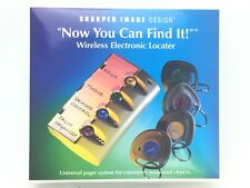 Wireless Locator Key Pet Finder Universal Pager System Sharper Image SI567
