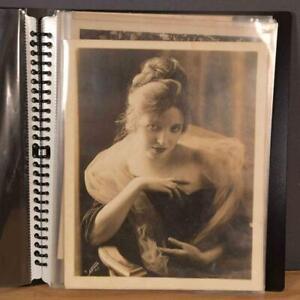 ALICE JOYCE CELEBRITY VINTAGE PHOTOGRAPHS NOTEBOOK, MADONNA OF THE SCREEN