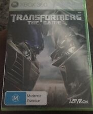 Transformers: The Game (Microsoft Xbox 360, 2007) New Sealed