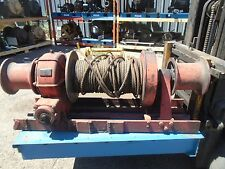Braden Winch Model MSS-18B R -Great Condition- 30000lbs Capacity