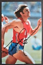 JENNER BRUCE AMERICAN DECATLON OLYMPIC GOLD MEDAL 1976 SIGNED PROMOPHOTO