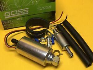 Fuel pump for Fiat 850 S 0.8L 0.9L 69-71 Inline external Goss 2 Yr Wty
