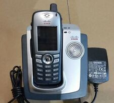 Cisco 7921G Wireless IP Phone w/Desktop Charger, AC Adapter - Grade A Condition