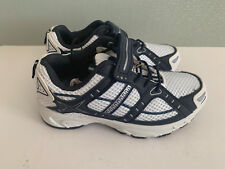 BNWT Little Boy Sz 12 Rivers Doghouse White Navy Athletic Jogger Casual Shoes