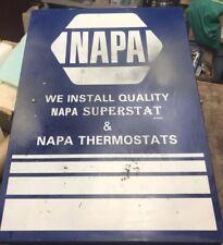 Vintage Napa Auto Thermostats. Metal Automotive Shop  Display Case