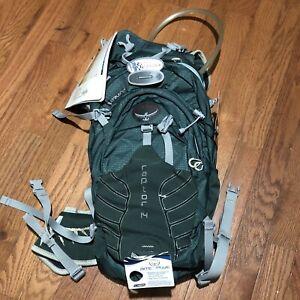 Osprey Raptor 14 Hydration Backpack Spruce Green Size M/L Mountain Biking