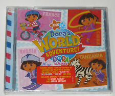 DORA'S WORLD ADVENTURE - DORA THE EXPLORER (CD, 2006, VIACOM) - NICK JR. - NEW