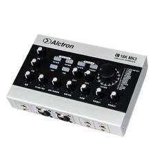 Scheda AUDIO ESTERNA USB INTERFACCIA AUDIO AMPLIFICATORE MICROFONO CON CAVO USB RCA 48V 16Bit