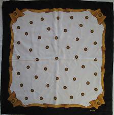 -Superbe Foulard BALLY  100% soie  TBEG  vintage scarf
