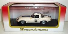 KYOSHO JAGUAR E-TYPE ROADSTER RACING 1963 LE MANS #15  1:43 03063A, White SEALED