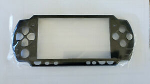 Replacement Front Faceplate for Sony PSP 2000 / 2001 - Black