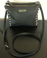 Kenneth Cole Reaction Small Cross Body Bag Black  leather
