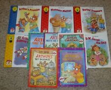 LOT OF 10 MARC BROWN  ARTHUR CHILDREN'S BOOK