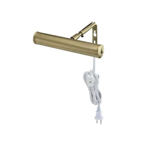 Westinghouse Lighting 7505200 7-Inch Slimline Picture Light, Antique Brass, Sing