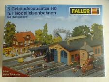 Faller Set Königsbach H0 5 Gebäudebausätze OVP