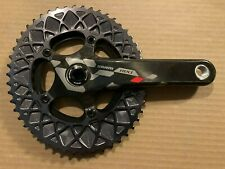 SRAM Red BB30 165mm Crank with Absolute Black Oval Chainring