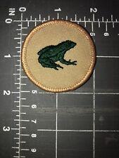 Green Frog Bullfrog Toad Croaker Polliwog Patrol Boy Scouts of America BSA Patch