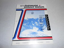 1979 2 hp Johnson Outboard Motor Repair & Service Manual Evinrude 2 hp