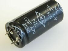 150F Farad 2,7Vcc supercondensatore YEC NL2550 snap in #