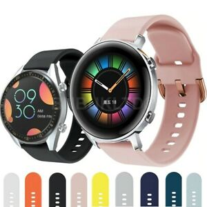 For Huawei Watch GT 2 42MM Silicone Fitness Wrist Band Strap