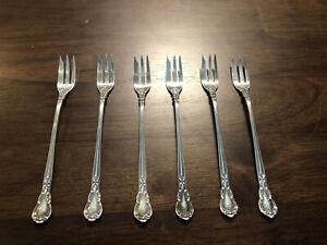 "Hanover by Gorham Sterling Silver Strawberry Fork 4 5//8/"" Flatware Antique"