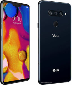 LG V40 ThinQ V405 64GB ATT T-Mobile Sprint Verizon OR Unlocked Android Cellphone