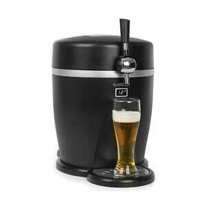 Beer Tap Dispenser Keg Home brew Cooler 5l/13l Barrel CO2 Stainless Steel Black