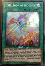 "YuGiOh ""SPELLBOOK OF JUDGMENT"" LTGY-EN063 Yu-Gi-Oh! SECRET RARE CARD HOLO FOIL"