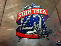 Star Trek 25th Anniversary Logo with USS Enterprise Patch P200