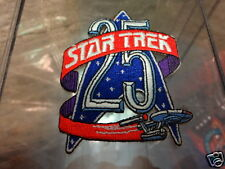 Star Trek 25th Anniversary Logo with USS Enterprise Patch P200