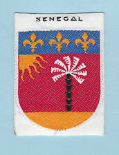 SCOUT OF FRANCE -  FORMER FRENCH COLONIES SENEGAL SCOUTS Patch ~ SCARE