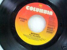 "MARTIKA ""TOY SOLDIERS / EXCHANGE OF HEARTS""  45"