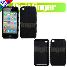 CUSTODIA COVER IN SILICONE SPORT NERO X IPOD TOUCH 4G 4