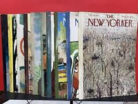Lot of 10 1960 The New Yorker Magazines 10 vintage old magazines various conditi