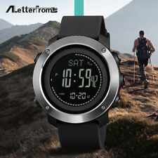 SKMEI Digital Watch Men's Women Sport Altimeter Barometer Thermometer Compass
