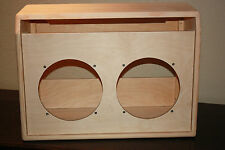 rawcabs Deluxe reverb 2x10 unfinished empty pine combo cabinet project