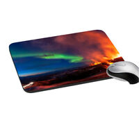 Mouse Pad Multicolor Print Soft Rubber Keyboard Large Computer Mouse Desk Pad